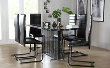 Unbranded Marble Dining Room Table & Chair Sets
