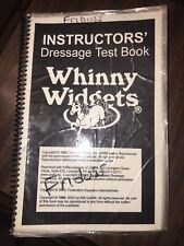 2002 Whinny Widgets Instructors' Dressage Test Book (laminated)