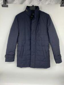 New Cardinal of Canada mens coat Belmont Technical Sz S navy wool U580