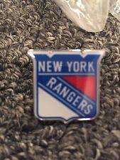 1 New York Rangers Red White Blue Hockey Pin  LGR  (Pack Of 1)