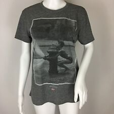 Obey 1978 Martha Cooper Street Play Boy Fire Hydrant Grey T-Shirt Size Small