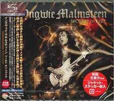 YNGWIE MALMSTEEN-WORLD ON FIRE-JAPAN SHM-CD F83