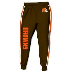 Cleveland Browns Casual Joggers Pants Sweatpants Active Sports Workout Trousers