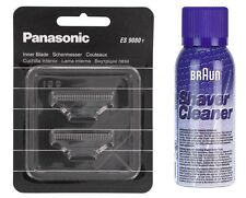 PANASONIC WES 9080Y SCHERMESSER  ES 8003 + BRAUN REINIGUNGS SPRAY 100 ML