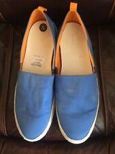 Philippe Model Uomo Blu Mocassini Scarpe Misura: 10UK nuovo prezzo consigliato: £ 245