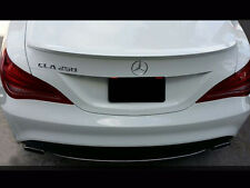 Mercedes W117 CLA Coupe AMG Style Trunk Boot Lip Spoiler ALL MODELS