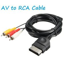Composite AV to RCA Cable for Microsoft XBOX Original Classic 1.8m 6ft Cord