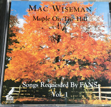 Mac Wiseman CD Maple On The Hill Songs Requested By Fans Vol-1