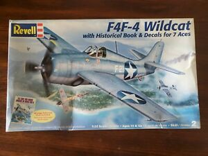 VINTAGE Revell F4F-4 Wildcat 1:32 Scale Plastic Model Kit