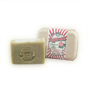Peppermint Essential Oil Natural Soap