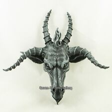 Baphomet Goat of Mendes Head Pagan Occult Satanic Demon Wall Plaque Ornament NEW