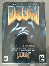 Doom: Collector's Edition The Ultimate Doom Trilogy Big box PC Complete (2001)
