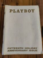 VINTAGE PLAYBOY MAGAZINE JANUARY 1969  FIFTEENTH HOLIDAY ANNIVERSARY ISSUE