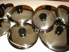Replacement Stainless Steel Lids for Revere Ware Pans 4 5 6 7 8 9 10 12 inch