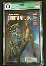 Darth Vadar #3  Signed & Remarked David Prowse  1st Dr Aphra  CGC 9.6 3737274004
