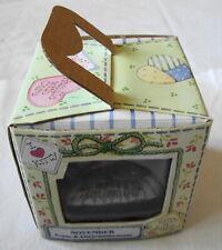 "Enesco Calico Kittens ""November"" Original Window Display Box 2000"