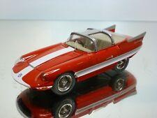 SIMPLE GAMMA 037 ALFA ROMEO 6C 3500 SUPERFLOW 1956 - RED 1:43 - EXCELLENT 11