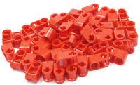 LEGO Technik - 50 Verbinder 90 Grad Loch Achsloch rot / 6536 NEUWARE (L14)