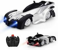Baztoy Remote Control Car, Kids Toys Wall Stunt Car Dual Modes Rc Grey
