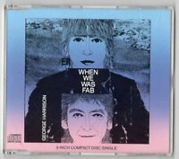 George Harrison CD-SINGLE 3-Inch WHEN WE WAS FAB © 1988 Jazz Rock 4-track-CD
