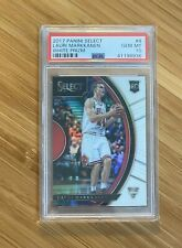 2017 Panini Select Lauri Markkanen White Prizm #128/149 PSA 10 Rookie Card RC