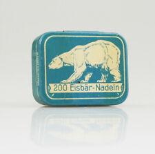 '200 Eisbar-Nadeln' Gramophone Needle Tin, with needles - Fairly Scarce (ZZ96)