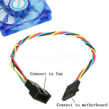 5 pin to 4 pin Computer Fan Connector Adapter Extension Convertion Cable For Del