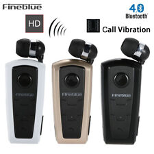 Auriculares Bluetooth Inalámbrico Auricular Fineblue F910 Vibrating Alert Clip Business