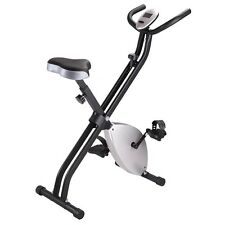 Folding Exercise Bike Magnetic Stationary Cycling Machine Cardio Fitness Trainer