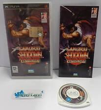Console Gioco Game UMD Sony Playstation PSP PAL EUR - SAMURAI SHODOWN ANTHOLOGY