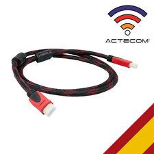 CABLE HDMI A MINI HDMI CALIDAD CON FILTROS MALLADO FULL HD CONSOLA TV ANDROID