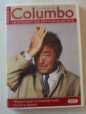 DVD COLUMBO - Peter FALK - RANÇON POUR UN HOMME MORT / LE LIVRE TEMOIN - N°1