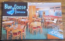 Vintage PC Postcard Blue Goose Restaurant Entrance Fort Myers, Florida FL