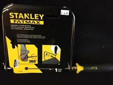 """Stanley FATMAX Coping Saw 6-3/8"""" Carbon Hardened Tempered Blade Rubber Handle"""