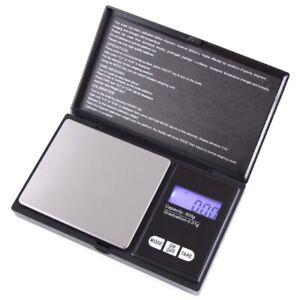 Mini Waage 0.01-500g Digital LCD Feinwaage Taschenwaage Goldwaage Präzisionwaage