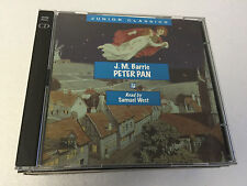 Peter Pan (Audio CD) by J.M. Barrie (Author)  2 CD SET EX/EX 730099010221