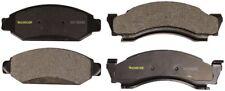 Disc Brake Pad Set-Total Solution Semi-Metallic Brake Pads Front Monroe DX50