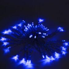 ALEKO Solar Powered Decorating Garden Patio Party Holiday Lights 20' 50LED BLUE