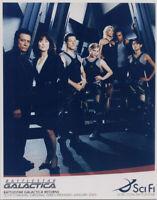 Battlestar Galactica 2005 SciFi Channel 8x10 photo full cast pose