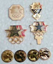 New listing 4 L.A. Olympic Stars in Motion Committee Lapel Pins pin lot