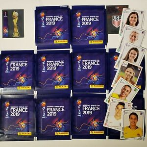 Panini Women's World Cup France 2019 - 10 Packs