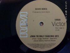 DAVID BOWIE-JOHN I'M ONLY DANCING.7'' SINGLE