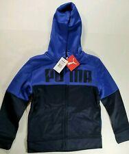Puma Kids Color Black Sports Jacket_Size Small