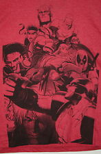 Marvel Comics Vs Capcom Fate of Two Worlds 3 2011 T-Shirt New LG tags