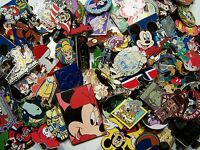 DISNEY PIN 200 PINS MIXED LOT SELF PROCLAIMED FAST SHIP TO USA 100-125 DIFFERENT