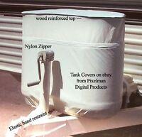 Propane Cylinder Cover RV Camper Pop-up dual tank 20lb
