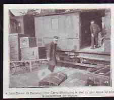 1920  --  SAINT BONNET DE ROCHEFORT  CHEF DE GARE MANUTENTION DES BAGAGES  £336