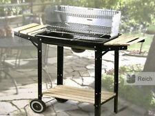 Barbecue à charbon de bois Barbecue-gril Grille Surface la 48 x 26 cm