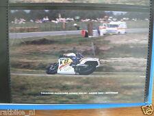 S0850-PHOTO-TAKAZUMI KATAYAMA HONDA 500 CC ASSEN 1983 NO 8 CASTROL MOTO GP