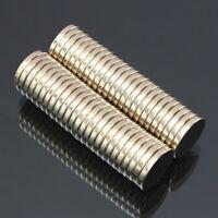 50 Teile 15X3MM N52 Super Stark Rund Scheiben Selten Erde Neodym Magnet Faddish